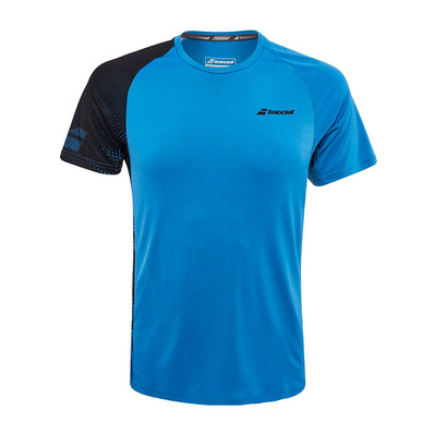 BABOLAT - PERFORMANCE CREW - Maillot Homme parisian blue/black