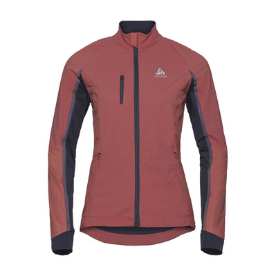 ODLO - MILES - Chaqueta mujer faded rose/odyssey gray