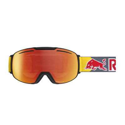 RED BULL SPECT - Red bull BUCKLER - Gafas de esquí black/red snow orange red mirror