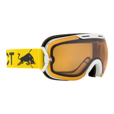 RED BULL SPECT - Red bull SLOPE - Gafas de esquí white/orange