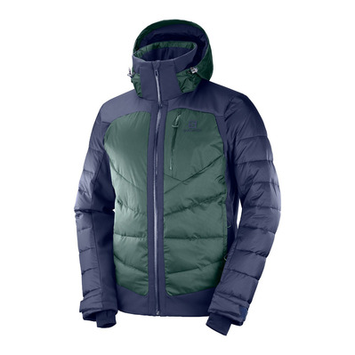 SALOMON - ICESHELF - Doudoune Homme night sky/green gables