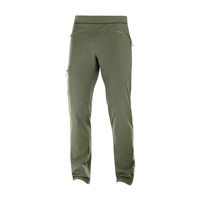 SALOMON - WAYFARER - Pantalon Homme olive/heather
