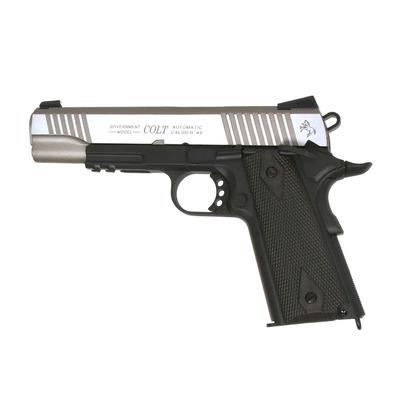 COLT - 1911 RAIL GUN® CO2 - Réplica airsoft metal/black