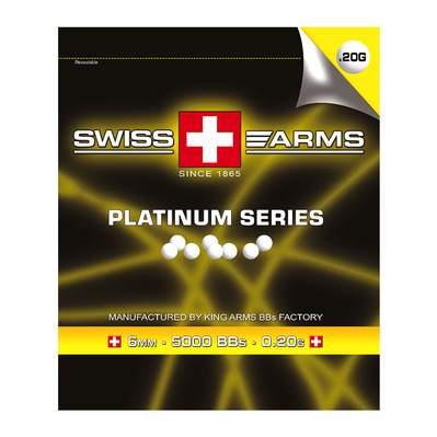 SWISS ARMS - KA-BB-01-WH - Bolas x5000 white