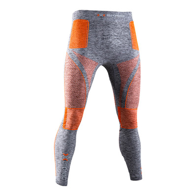 X-BIONIC - ENERGY ACCUM MEL P M - Mallas hombre grey melange/orange