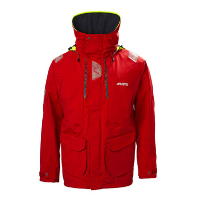 MUSTO - BR2 OFFSHORE JKT Homme TRUE RED/TRUE RED