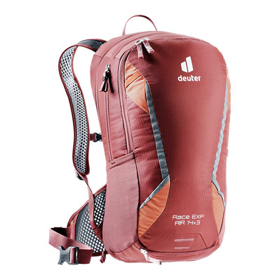 DEUTER - RACE EXP AIR 14+3L - Rucksack - redwood/paprika