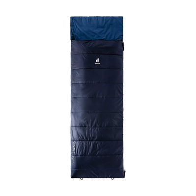 DEUTER - ORBIT SQ +5° - Sac de couchage navy/steel