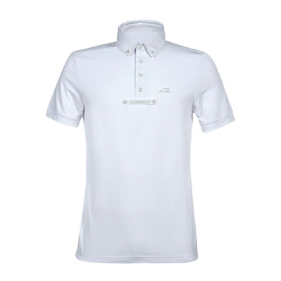EQUILINE - ELDSONE - Polo de concours Homme white