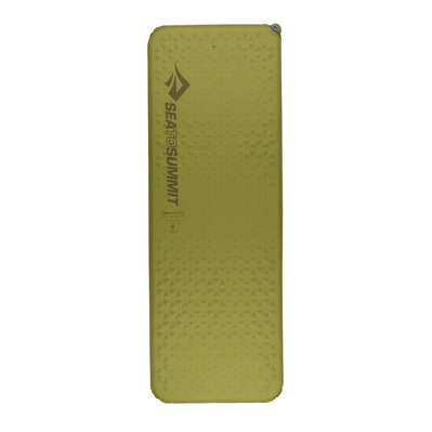 SEA TO SUMMIT - CAMP RECTANGULAR - Matelas auto-gonflable mat olive
