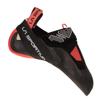 LA SPORTIVA - THEORY - Chaussons escalade Femme black/hibiscus
