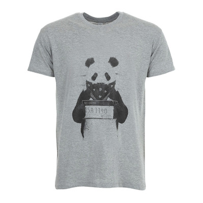SOLTIB DESIGN - BAD PANDA - T-Shirt - Men's - heather grey