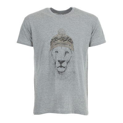 SOLTIB DESIGN - WINTER IS HERE - T-Shirt - Men's - heather grey
