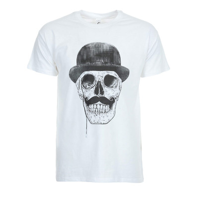 SOLTIB DESIGN - SKULL - T-Shirt - Men's - white