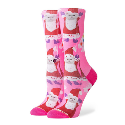 STANCE - SANTIPAWS CREW - Socks - Women's - pink