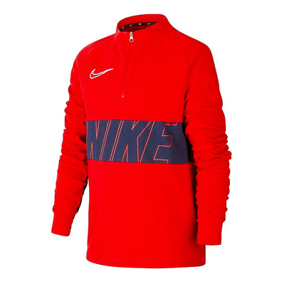 NIKE - DRY ACADEMY DRIL TOP SA - Sweatshirt - Männer - red/navy