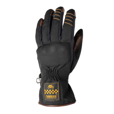 HELSTONS - ONE LADY HIVER - Gloves - Women's - black/camel