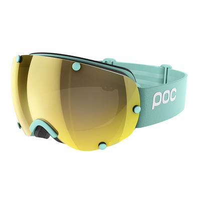POC - LOBES CLARITY - Ski Goggles - tin blue/spektris gold