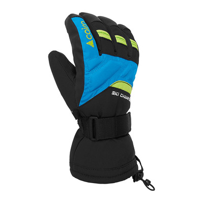 CAIRN - AMBIN CTEX - Gloves - Junior - black/azure