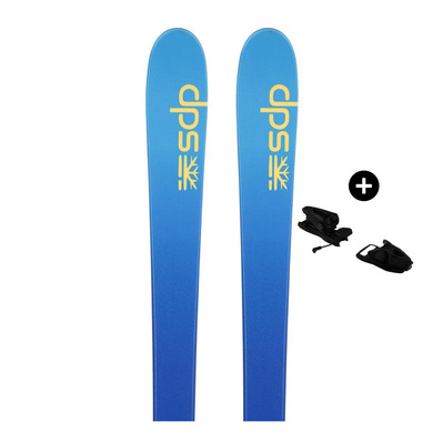 DPS - Pack DPS FOUNDATION USCHI F82 C2 20 - All Mountain/Piste Skis - Women's - blue