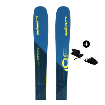ELAN - Pack Elan RIPSTICK 106 17/18 - Freeride Skis - Men's