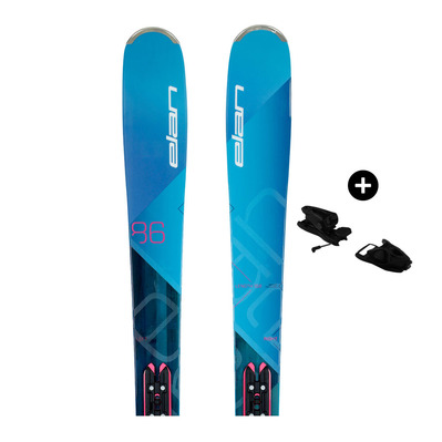 ELAN - Pack Elan RIPSTICK 86 W - All Mountain/Freeride Skis - Women's - blue purple