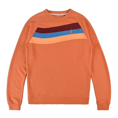 LIGHTNING BOLT - FLOW FLEECE CREW - Sweatshirt - Männer - apricot buff