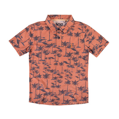 LIGHTNING BOLT - PALM TREES - Poloshirt - Männer - apricot buff