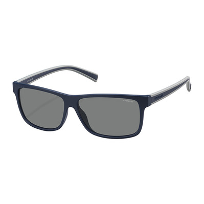 POLAROID - PLD 2027/S - Polarised Sunglasses - dark solid blue/grey