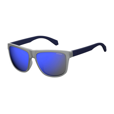 POLAROID - PLD 2057/S - Polarised Sunglasses - matte blue/blue