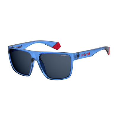 POLAROID - PLD 6076/S - Polarised Sunglasses - blue/smoke