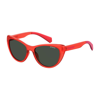 POLAROID - PLD 8032/S - polarisierte Sonnenbrille - Junior - red/smoke