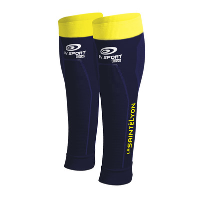 BV SPORT - BOOSTER ELITE PERSO SAINTÉ-LYON 2017 - Beinlinge - blue/yellow