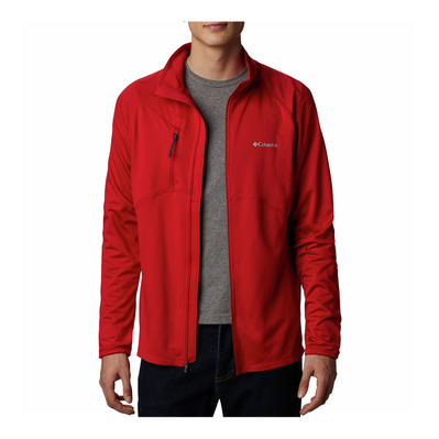COLUMBIA - MT POWDER™ FULL ZIP - Fleecejacke - Männer - mountain red