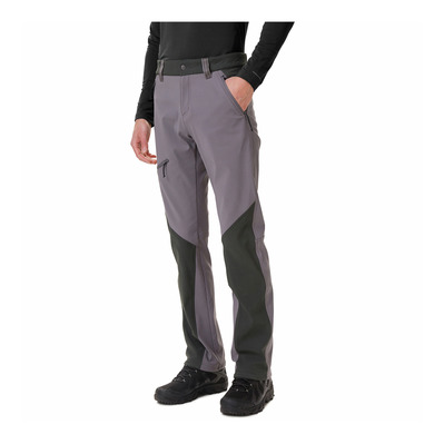 COLUMBIA - TRIPLE CANYON™ FALL HIKING - Hose - Männer - city grey/shark