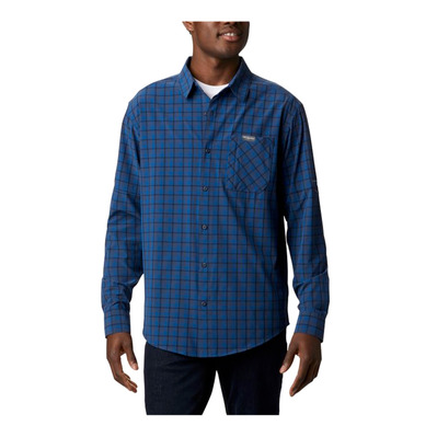 COLUMBIA - TRIPLE CANYON™ LS - Hemd - Männer - bright indigo mini t