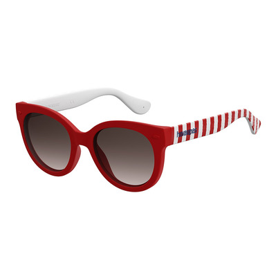 HAVAIANAS - NORONHA - Sonnenbrille - Junior - dark red stripe/smoke