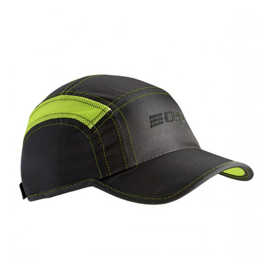 CEP - BRAND RUN WZ164 - Casquette black/lime green