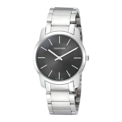 Calvin Klein - K2G22143 - Quartz Watch - Women's - metallic/dark grey