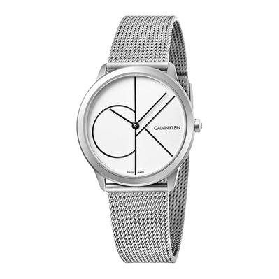 Calvin Klein - MINIMAL - Quartz Watch - Women's - silver