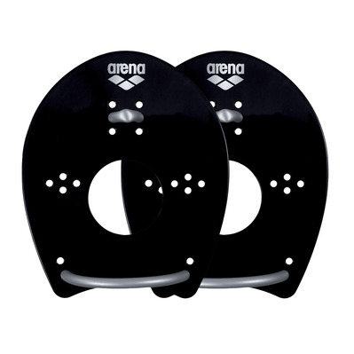 ARENA - ELITE HAND - Paddles - black/silver