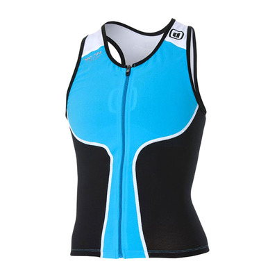Z3ROD - ITOP - Tank Top Triathlon Frauen atoll/black/white