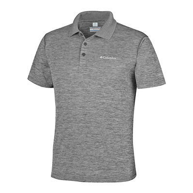 COLUMBIA - ZERO RULES - Polo - Men's - shark heather