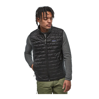 PATAGONIA - Sleeveless Down Jacket - Men's - NANO PUFF black