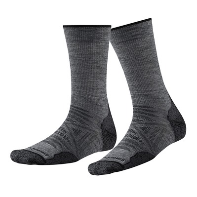 SMARTWOOL - PHD OUTDOOR LIGHT CREW - Chaussettes medium gray