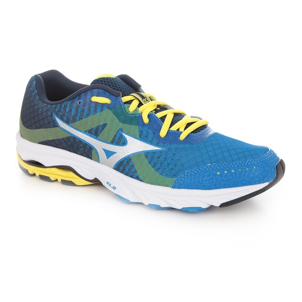 MIZUNO Chaussures running homme WAVE ELEVATION electric blue