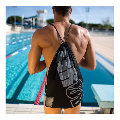 Z3ROD - SWIMMER - Sac de rangement black/white