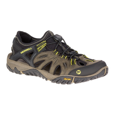 MERRELL - ALL OUT BLAZE SIEVE - Chaussures randonnée Homme olive night