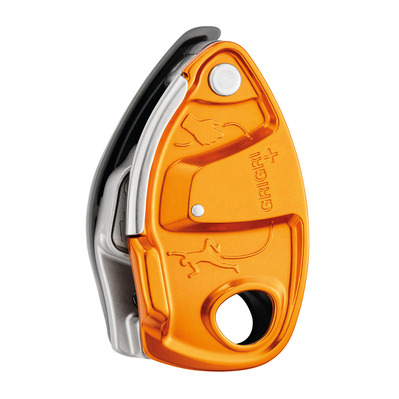 PETZL - GRIGRI+ - Belay Device - orange