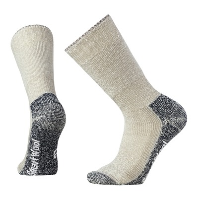 SMARTWOOL - Socks - Men's - MOUNTAINEERING EXTRA HEAVY CREW taupe